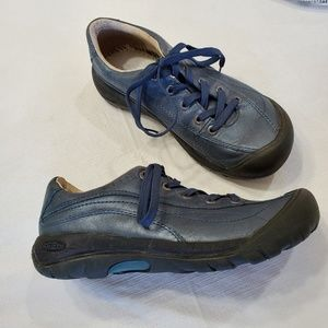 2cbfe9a50d3 KEEN Toyah leather lace-up walking/hiking shoes ...